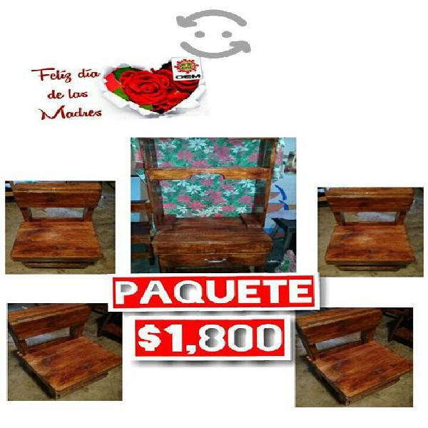 especial paquete rustico/En venta
