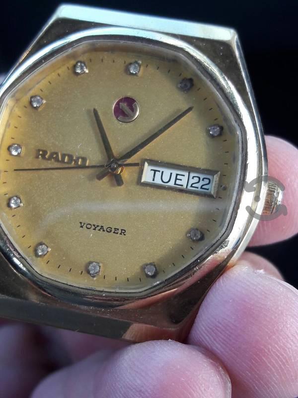 reloj rado de pulso vintage