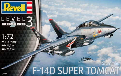 F-14d Super Tomcat By Revell Germany #