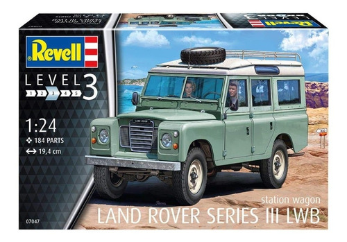 Land Rover Series 3 Lwb By Revell Germany #