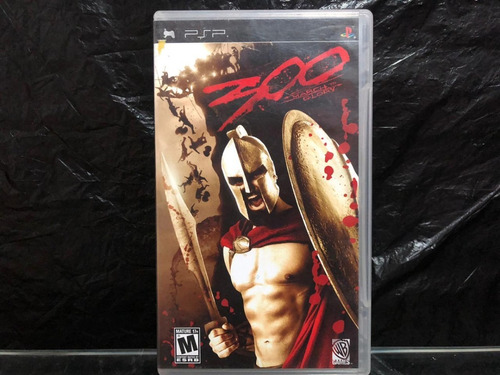 300: March To Glory Sony Psp