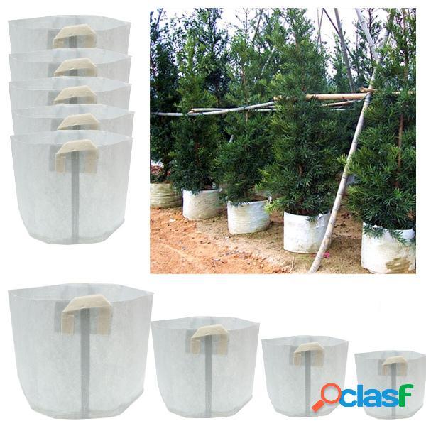 5 paquetes de tela bolsas de cultivo Smart Pots contenedor