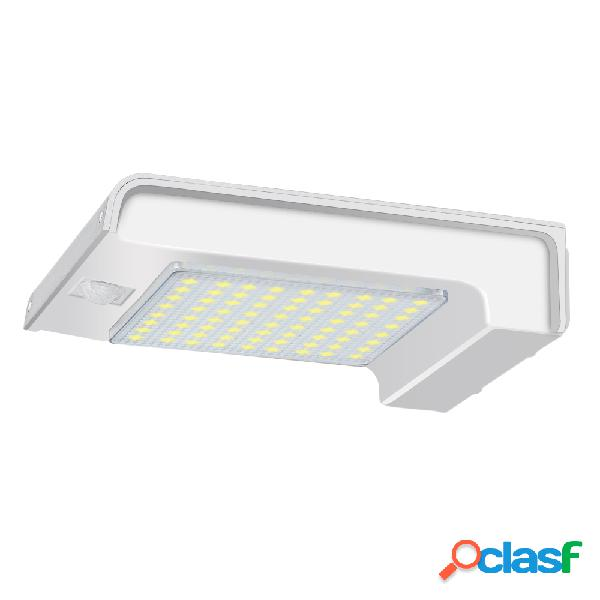 72 LED Solar Power Gutter Security Wall Light Movimiento