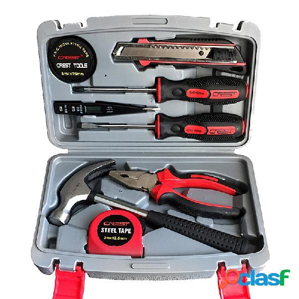 8 piezas de herramientas para reparaciones en el hogar Juego