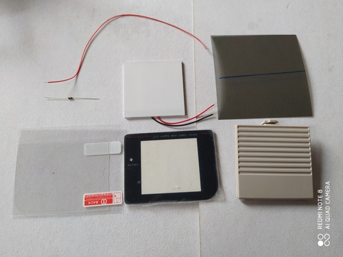 Backlight Panel De Luz Pantalla Game Boy Tabique Accesorios