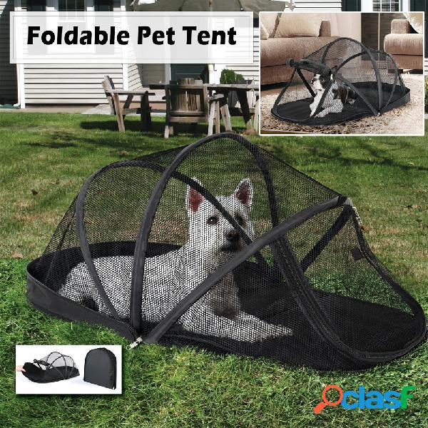 Barra de jaula plegable Pet portátil Dome Fácil de llevar