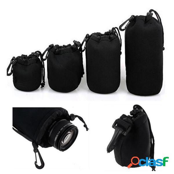 Bolsa suave de la bolsa de la lente del neopreno SML XL de