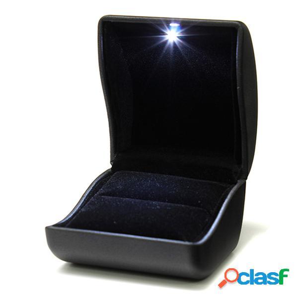 Caja ligera encendida LED de la joyería de la caja del