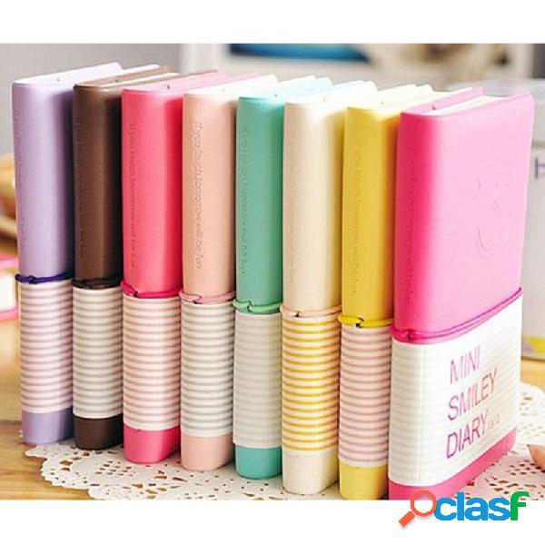 Candy Colors Cuaderno de papel encantador Cuaderno de notas