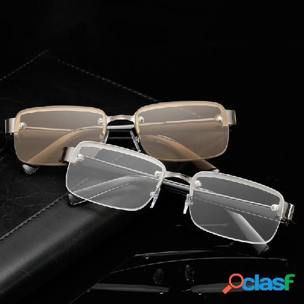 Classic Lectura Gafas Sin marco HD Lectura Gafas Para ojo de