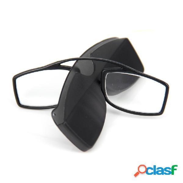 Clip Nariz Gafas de Lectura Mini Gafas Presbicia con Caja