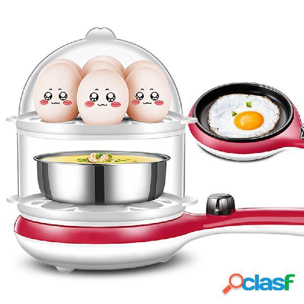 Cocina de huevo eléctrica multifuncional 3 en 1 14 Huevos