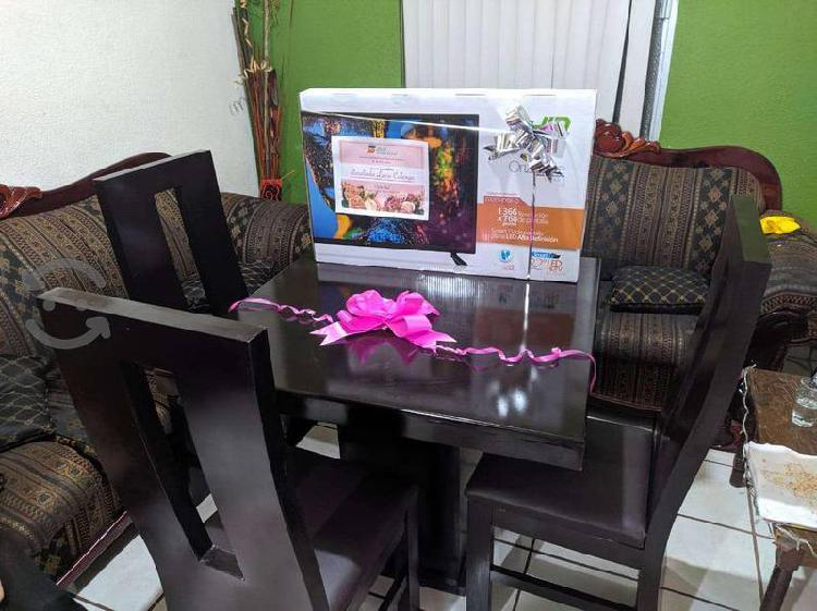 Comedor 4 sillas nuevo