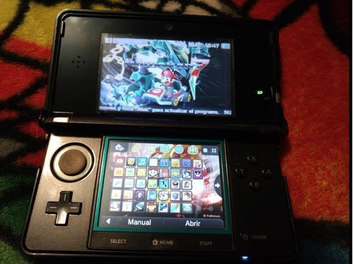 Consola Nintendo 3ds 32gb Llena Juegos Pokémon Mario Zelda