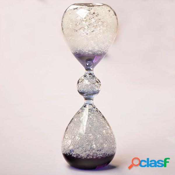 Creative sueño burbuja de arena de madera de arena de reloj