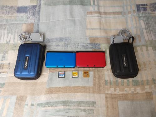 Duo Nintendo 3ds Rojo Y Azul