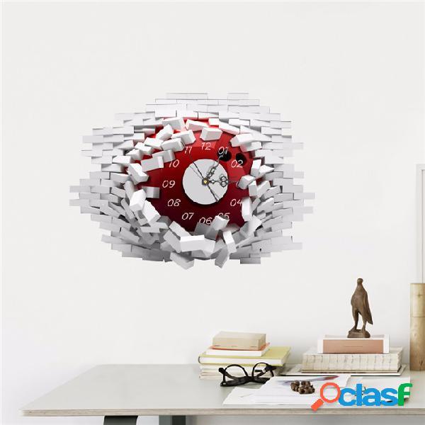 ETIQUETAS ENGOMADAS DEL PAG 3D etiquetas del reloj de pared