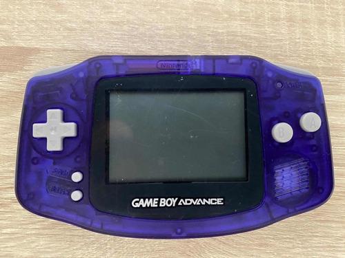 Gameboy Advance - Con Carcasa Nueva - Gba - Agb-001 + Juego