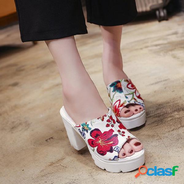 Grueso Inferior Grueso Con Sandalias y zapatillas Nuevo