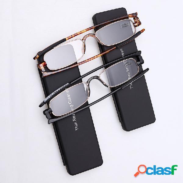 Hombres Mujer Lectura giratoria de alta definición Gafas al