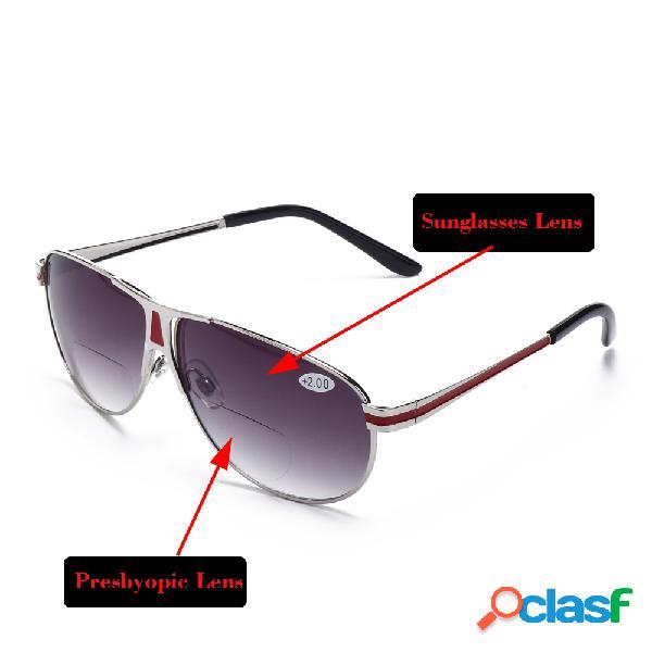 Hombres Mujeres Gafas de lectura y gafas de sol polarizadas