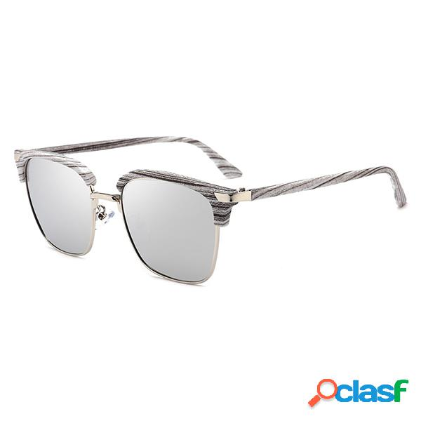 Hombres Mujeres Polarized Driving Square Gafas de sol HD