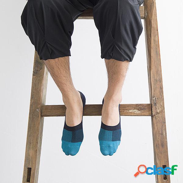 Hombres Plus Tamaño Algodón Tobillo calcetines Cómodo