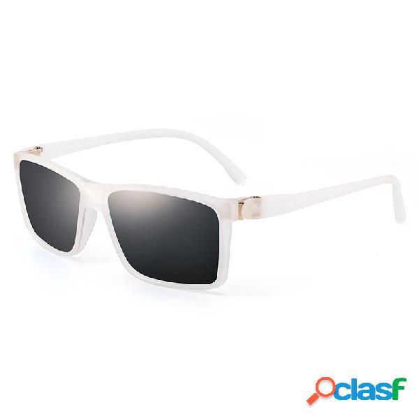 Hombres polarizados UV-400 Ligero Durable al aire libre