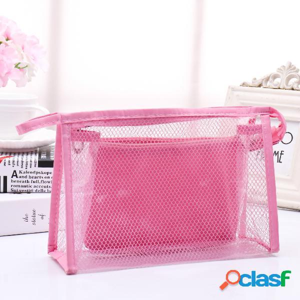 Honana BX-112 bolsas de cosméticos de PVC a prueba de agua