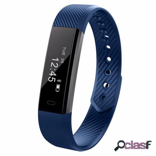 ID115HR monitor de ritmo cardíaco Smart Bracelet Fitness