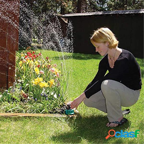 Jardín de 360 grados con regadera automática para