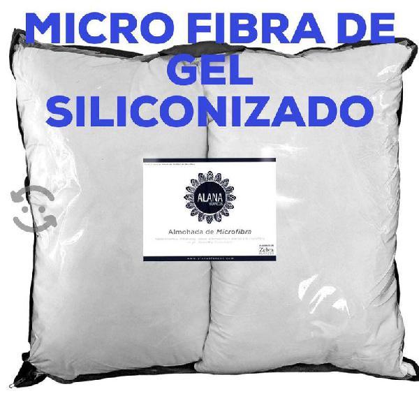Juego de 2 Almohadas de micro fibra king
