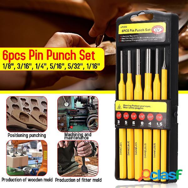 Juego de 6 puntas de pin de 150 mm Punch Chisel Machining