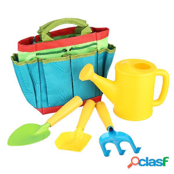 Juegos de herramientas de jardinería para niños Kit de