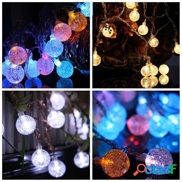 KCASA 2M 20 LED Bubble Ball cuerda luces LED luces de hadas