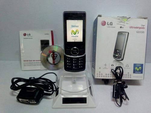 LG Gd330 Negro Movistar -- Envío Gratis --