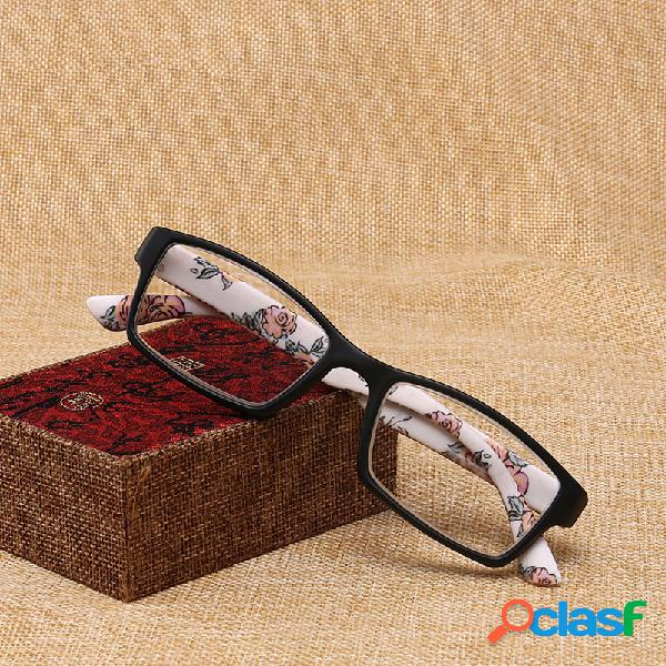 Lentes de lectura Square Fashion Cómodo Gafas de lectura