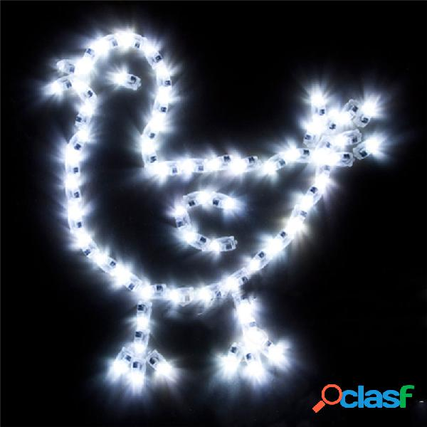 Luces del globo de las lámparas de 50Pcs / Lot LED para la