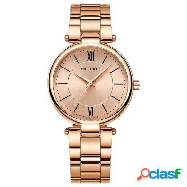 MINI FOCUS Reloj de pulsera de moda Multicolor Correa de