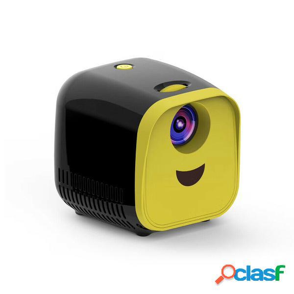 Mini dibujos animados Proyector 1080P HD TV para niños