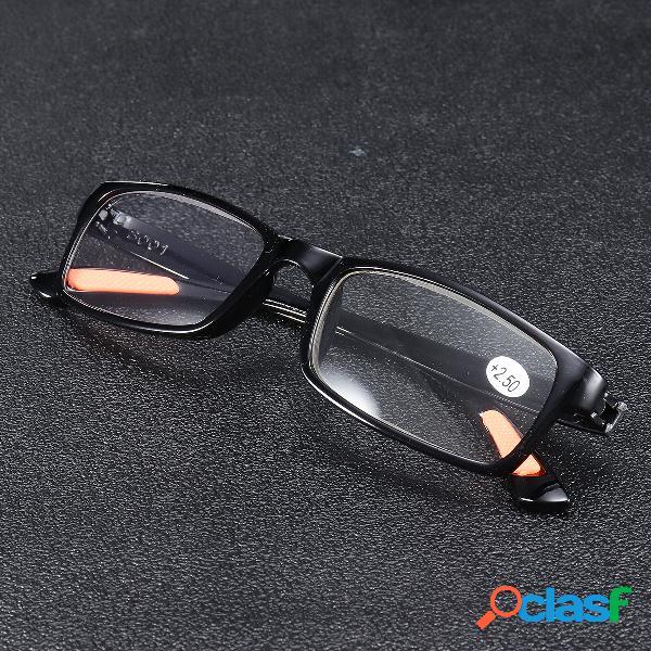 Minleaf TR90 Resina liviana, duradera y portátil, negro