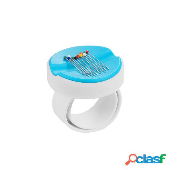 Moda Clip suministros 5 colores caja de imán redondo DIY