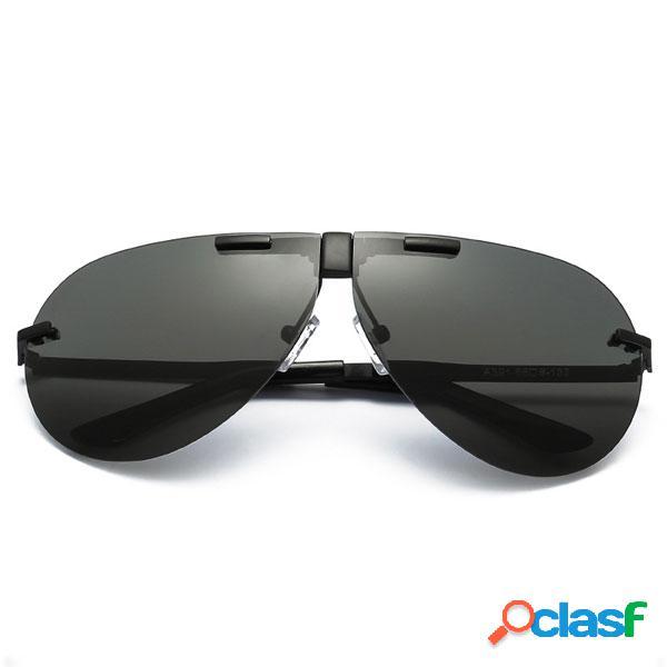 Moda Hombres Unisex UV400 gafas de sol polarizadas gafas de