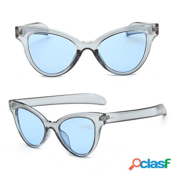 Moda Mujer Gato Gafas de sol al aire libre Casual Sports