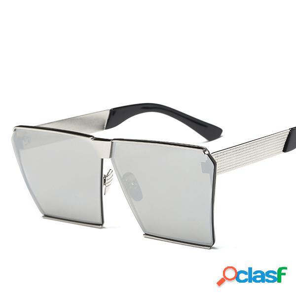 Mujer Fashion Square gafas de sol anti-UV, colores de viaje,