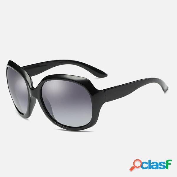 Mujer UV400 Protección gafas de sol polarizadas Moda Joker