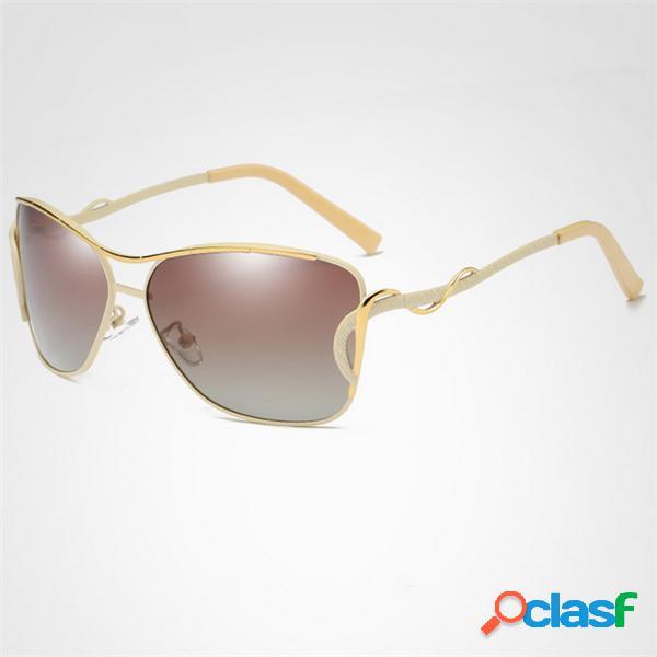 Mujer vendimia HD Gafas de sol polarizadas al aire libre