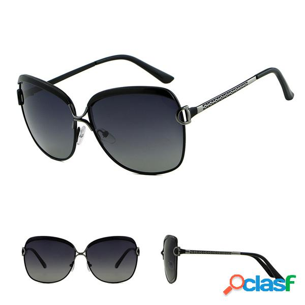 Mujer vendimia UV Protección polarizada Gafas gafas de sol