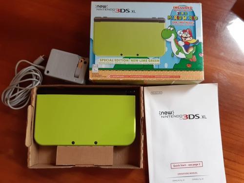 New Nintendo 3ds Xl Edición Especial Súper Mario Word