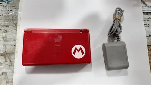 Nintendo Ds Lite Edicion Mario (bisagra Vencida) Funcionando